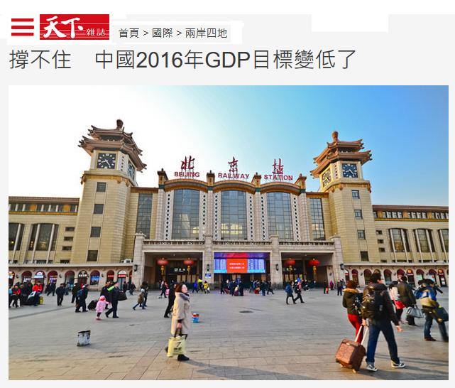 中國經濟趨緩