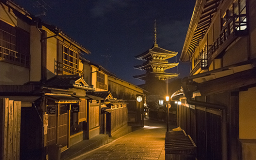 京都夜晚封面