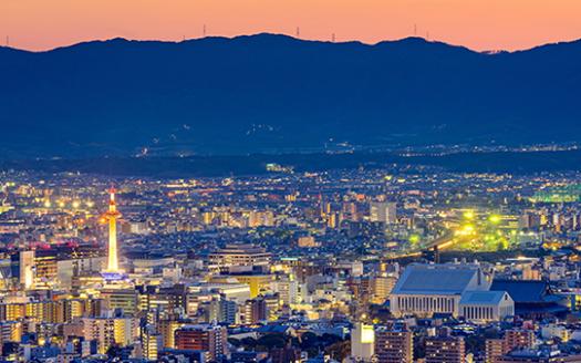 京都夜景封面