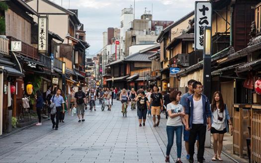 京都街頭封面